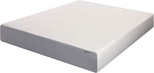 Amazon Basics 12-Inch Memory Foam Mattress - Soft Plush Feel, Full