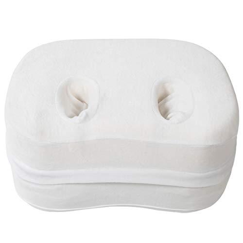 Milliard Adjustable - Memory Foam - Side Sleeper Ear Pillow for Ear Pain and CNH, Ear Guard Cushion