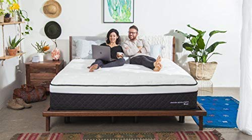 Nest Bedding Alexander Signature Hybrid 13.5' Copper Infused Luxury Mattress Thermic Phase Change Cooling Fabric