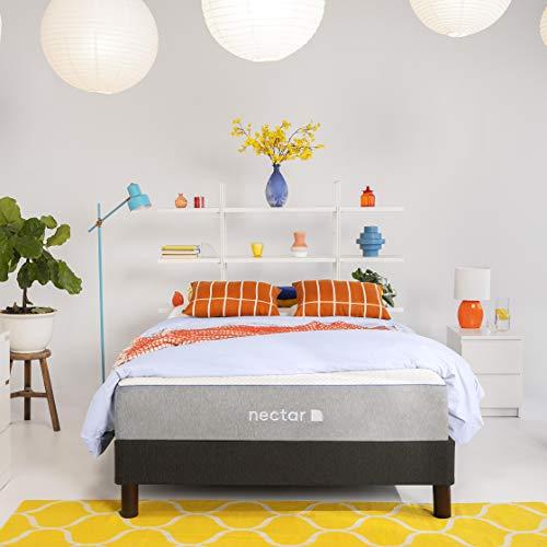 Nectar TwinXL Mattress + 2 Pillows Included - Gel Memory Foam - CertiPUR-US Certified Foams - Forever Warranty