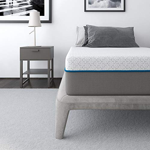 Signature Sleep Flex 10' Charcoal Gel Memory Foam Mattress - Twin