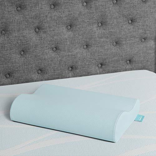 Tempur-Pedic TEMPUR-Ergo Neck Pillow, Medium Cooling, Blue