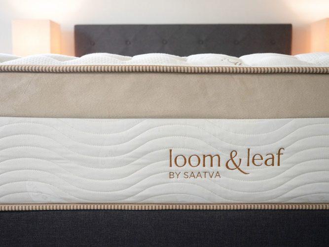 loom and leaf logo